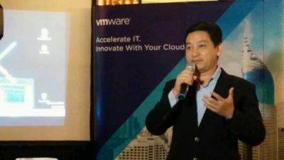 Country Manager VMware Indonesia Andreas Ananto Kagawa.