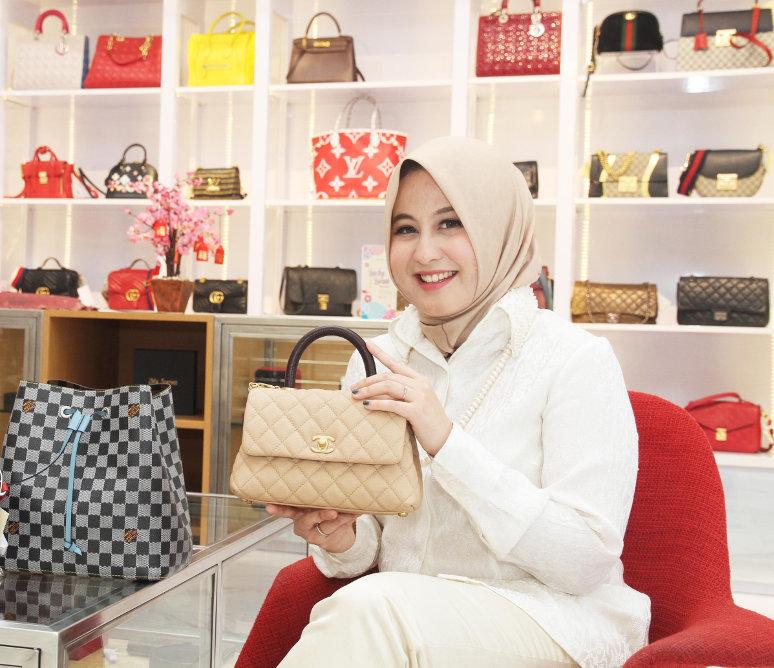 Trisha Chas, Founder & Owner Zeta Bags