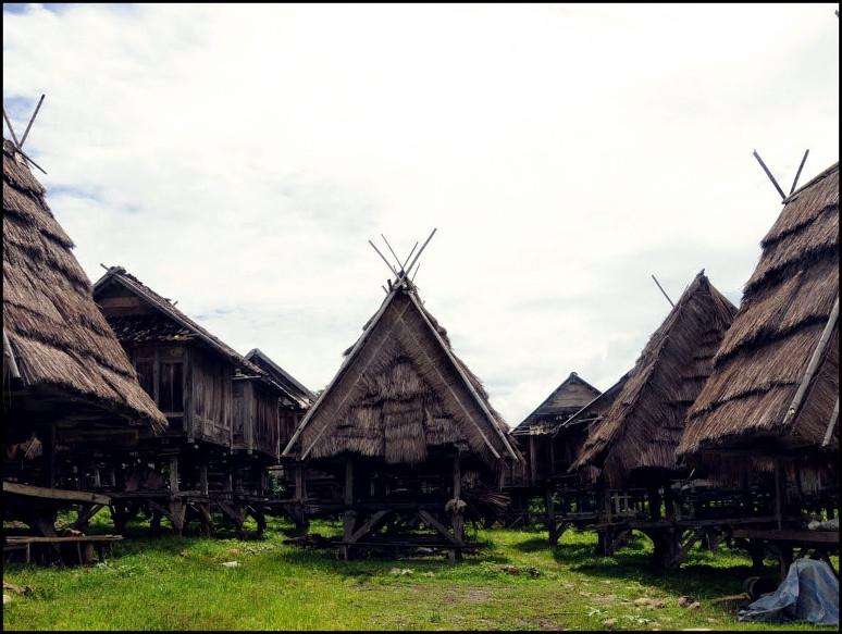 Uma lengge Desa Maria, salah satu potensi pariwisata di kabupaten Bima Nusa Tenggara Barat (Foto Istimea).