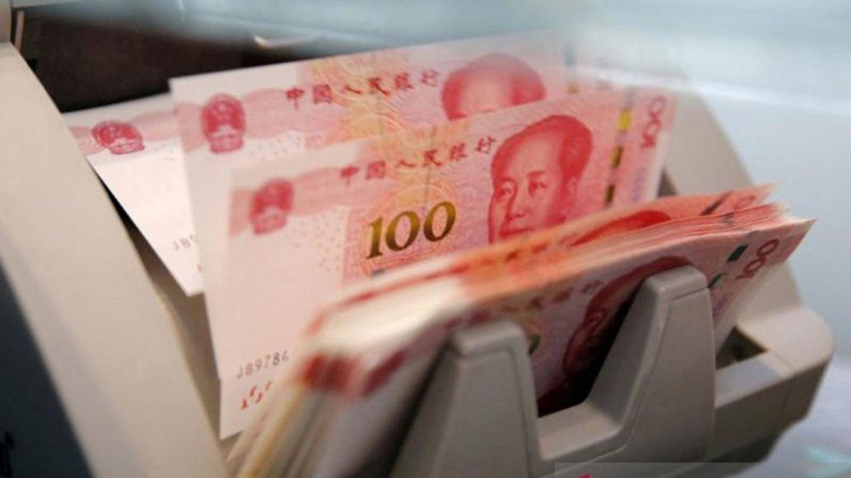 Ilustrasi mata uang Yuan, China (Foto. Antara).